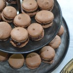 Celebrating Love with Chocolate Bourbon Macarons