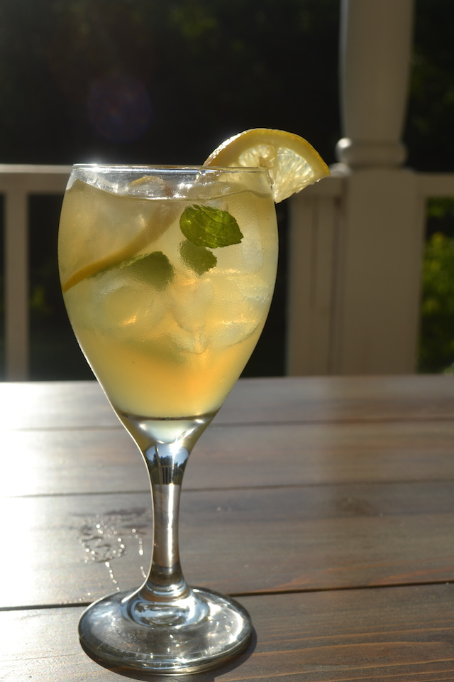 Summer Solstice - Whiskey and Lemonade
