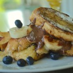 Nutella and Banana Stuffed French Toast for Breakfast (or Dessert)