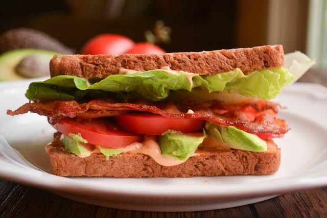 Avocado BLT with Spicy Chipotle Mayonnaise
