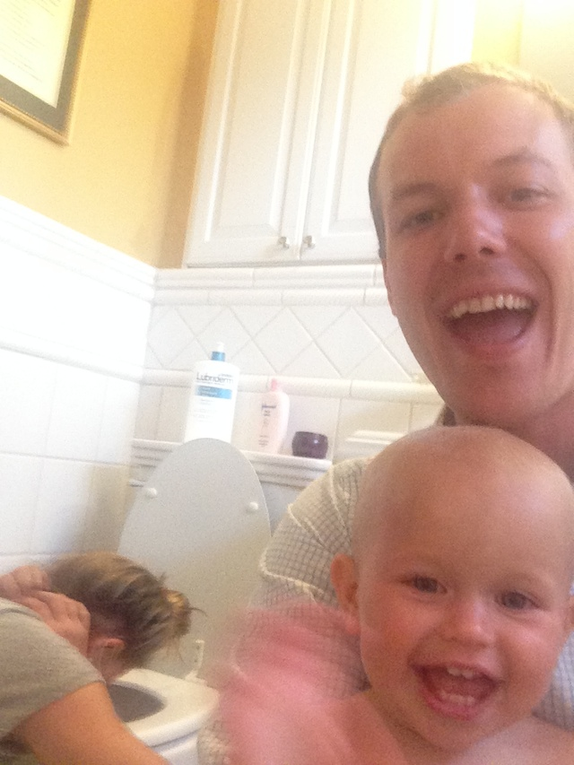 Joe and Marston selfie