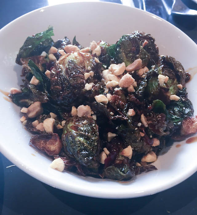 Gunshow Kung Pao Brussel Sprouts