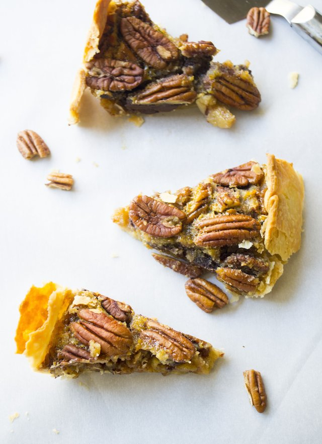 Chocolate Bourbon Pecan Pie Recipe