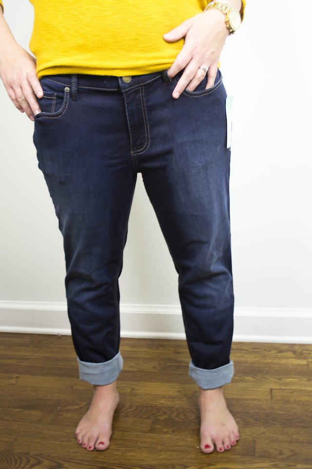 November Stitch Fix Review: Level 99 Dilan Boyfriend Jean