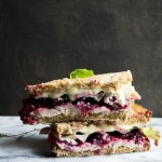 Turkey Leftovers: Turkey, Brie and Cranberry Sandwich