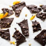 Orange Dark Chocolate Hazelnut Bark Recipe