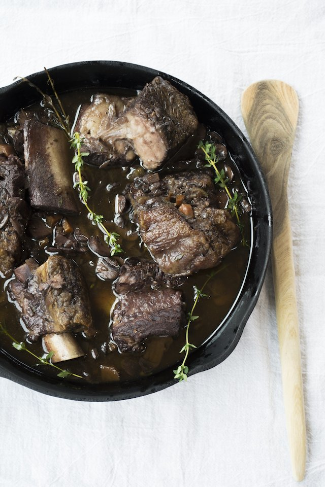 Braised Short Ribs in Red Wine