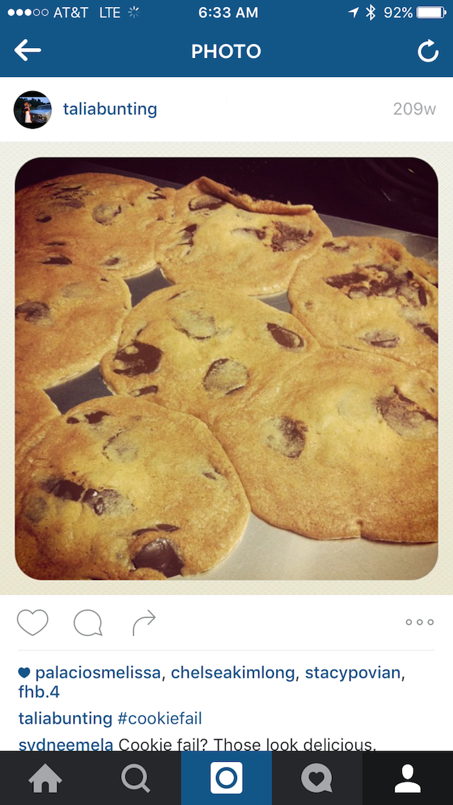 Flat Depressing Cookies