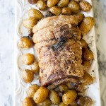 Stuffed Porchetta with Crispy Sage Potatoes