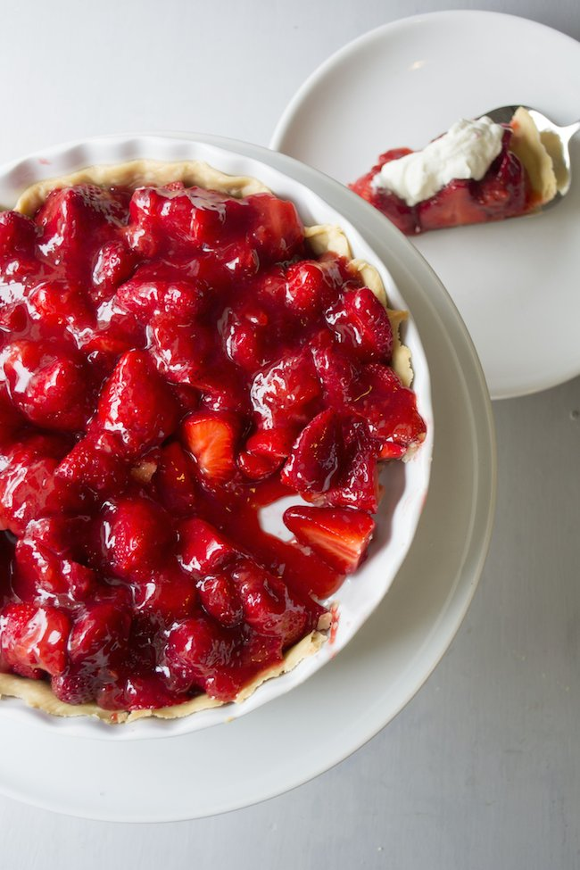 Grandma Ellen Bunting's Fresh Strawberry Pie Recipe