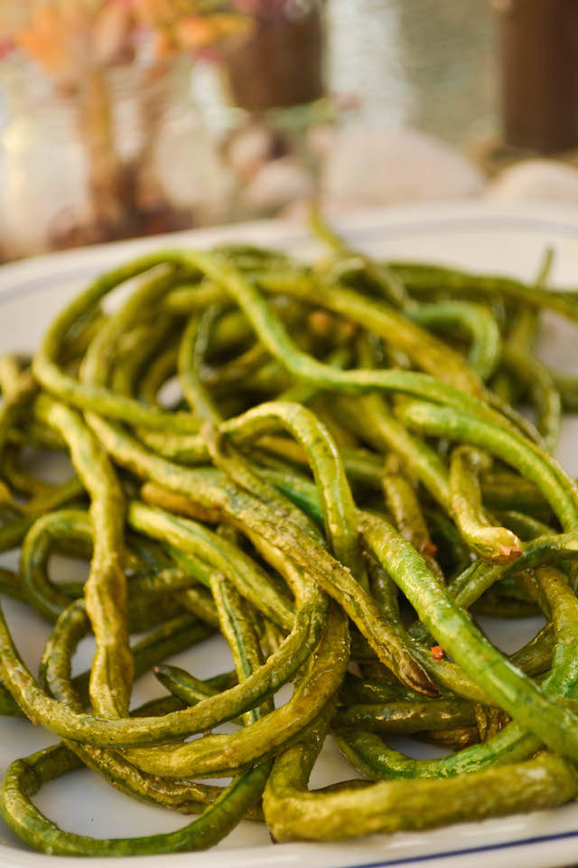 Grilled Long Beans