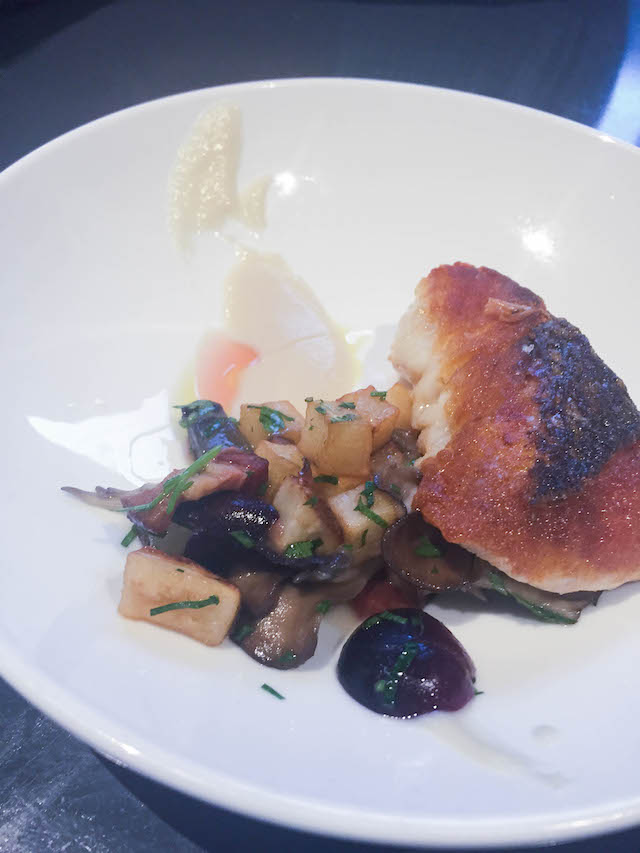 Gunshow Pan Roasted Red Snapper