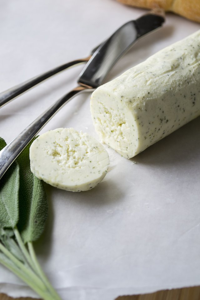 Homemade Sage Compound Butter Recipe