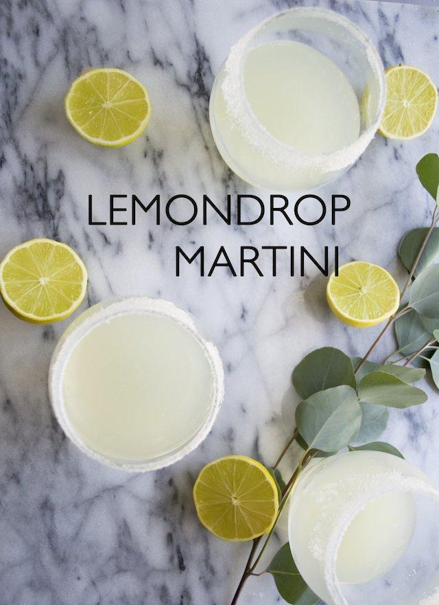 The Classic Lemon Drop Martini
