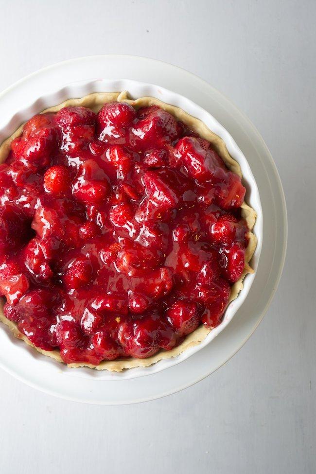 Grandma Ellen Bunting's Strawberry Pie Recipe