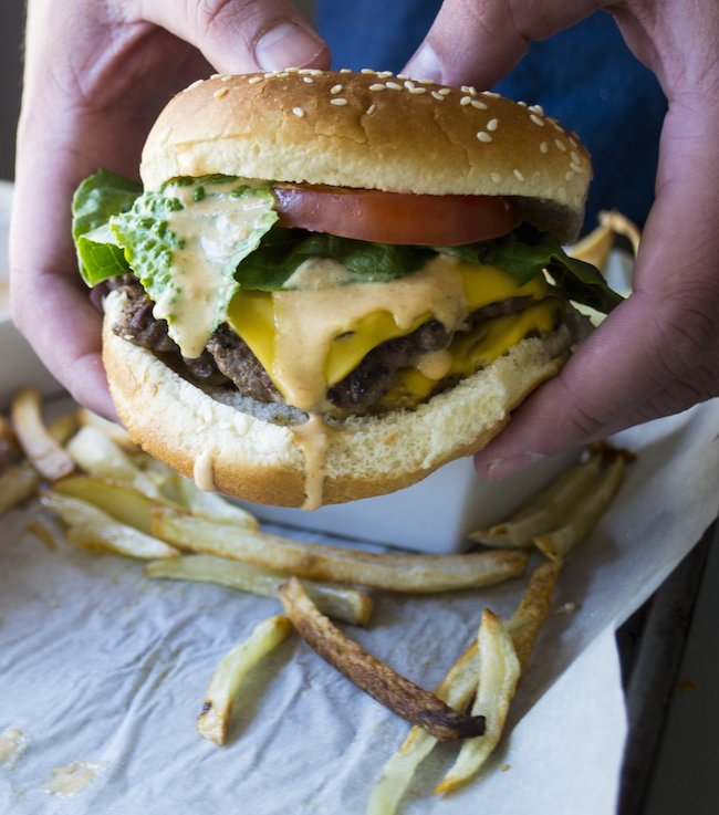How to make a double patty burger